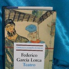 Libros de segunda mano: GARCÍA LORCA, OBRAS COMPLETAS (II), TEATRO · GALAXIA GUTENBERG, 1996 1ª BUEN ESTADO. Lote 94049035