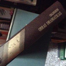 Libros de segunda mano: OBRAS DRAMÁTICAS. CALDERÓN. Lote 94671836
