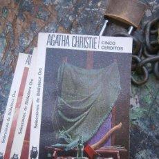 Libros de segunda mano: LIBRO CINCO CERDITOS AGATHA CHRISTIE Nº 58 1957 ED. MOLINO L-4364-260. Lote 95749011