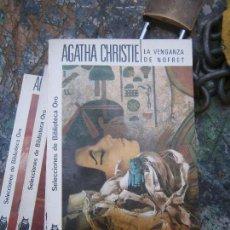 Libros de segunda mano: LIBRO LA VENGANZA DE NOFRET AGATHA CHRISTIE Nº 151 1965 MOLINO L-4364-261. Lote 95749071
