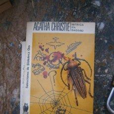 Libros de segunda mano: LIBRO INTRIGA EN BAGDAG AGATHA CHRISTIE Nº 92 1965 MOLINO L-4364-264. Lote 95749291