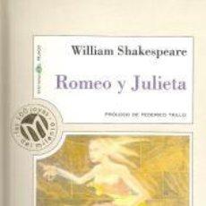 Libros de segunda mano: ROMEO Y JULIETA – WILLIAM SHAKESPEARE. Lote 95782967