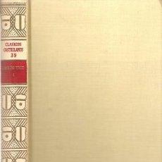 Libros de segunda mano: COMEDIAS. LOPE DE VEGA I. ESPASA CALPE. CLÁSICOS CASTELLANOS, Nº 39.1967.. Lote 95829903