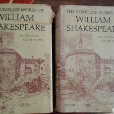 Libros de segunda mano: THE COMPLETE WORKS WILLIAM SHAKESPEARE, NELSON 1960. Lote 100203116