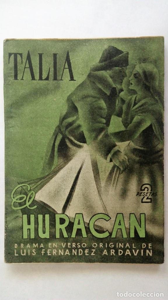 coleccion talia, año 1945, nº 59, el huracan, d - Comprar Libros de ...