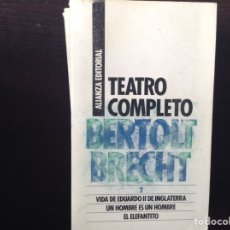 Libros de segunda mano: TEATRO COMPLETO 2. BERTOLT BRECHT. Lote 104251240