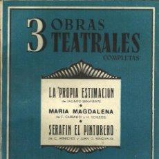 Libros de segunda mano - 3 OBRAS TEATRALES COMPLETAS - nº 3 - EDITORIAL CISNE - 1942 - 104475675