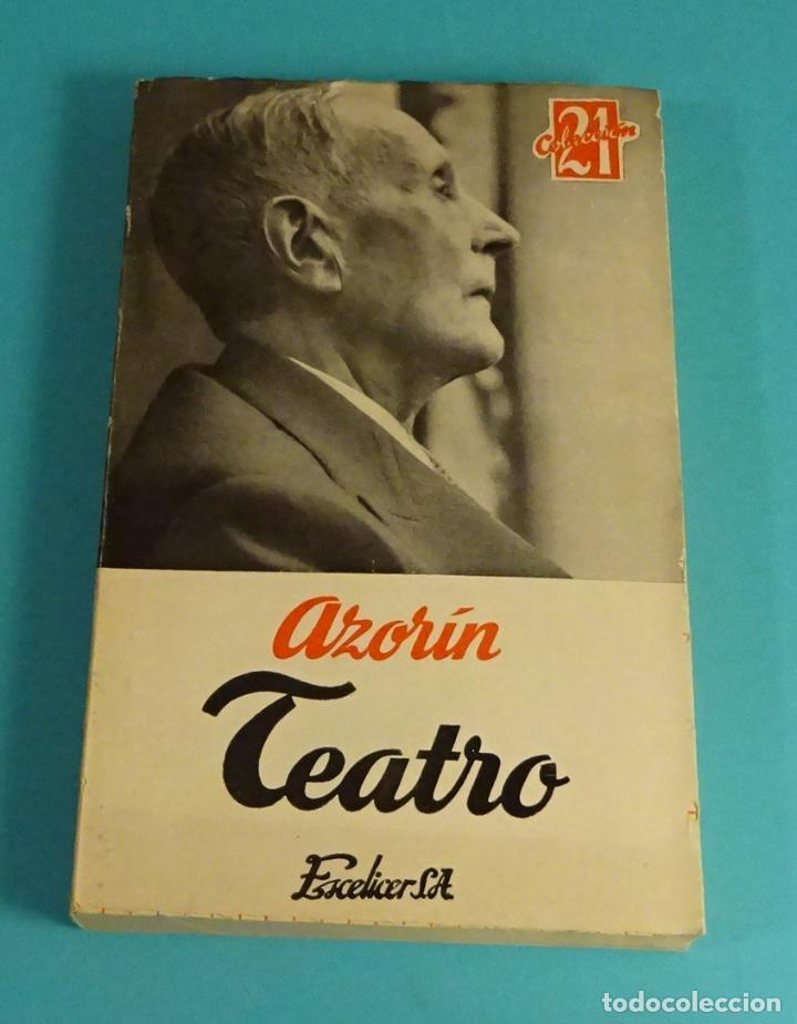 AZORÍN. TEATRO. EDITORIAL ESCELICER (Libros de Segunda Mano (posteriores a 1936) - Literatura - Teatro)