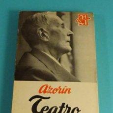 Libros de segunda mano: AZORÍN. TEATRO. EDITORIAL ESCELICER. Lote 107017435