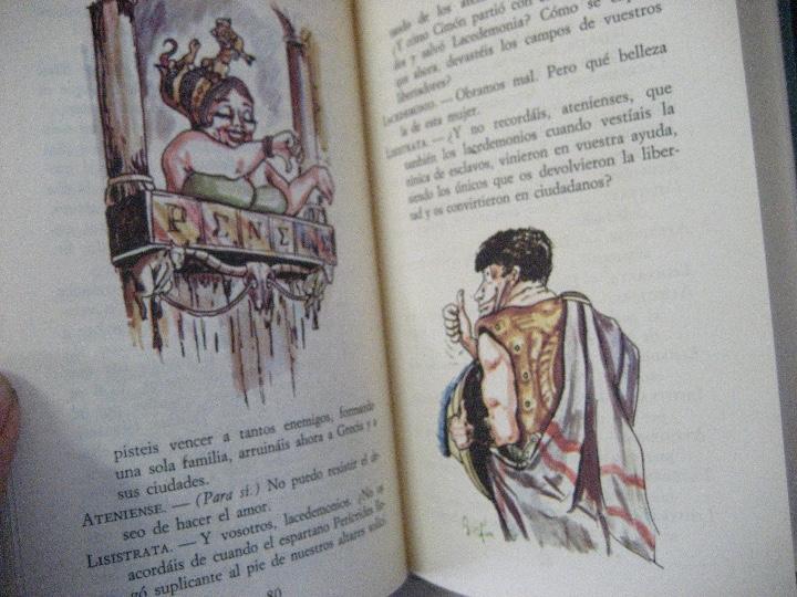Libros de segunda mano: COMEDIAS ARISTOFANES.LISISTRATA-LA ASAMBLEA DE LAS MUJERES.EDICIONES MARTE BARCELONA.ILUSTRA SERAFIN - Foto 7 - 107292895