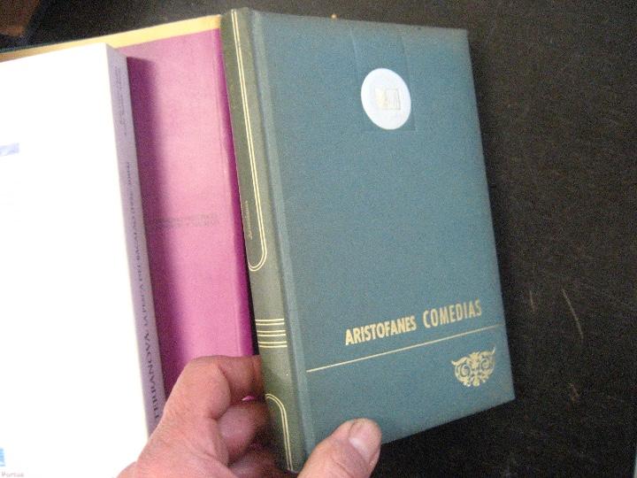 COMEDIAS ARISTOFANES.LISISTRATA-LA ASAMBLEA DE LAS MUJERES.EDICIONES MARTE BARCELONA.ILUSTRA SERAFIN (Libros de Segunda Mano (posteriores a 1936) - Literatura - Teatro)