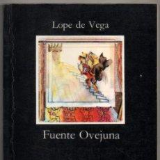 Libros de segunda mano: FUENTE OVEJUNA - LOPE DE VEGA *. Lote 108439499