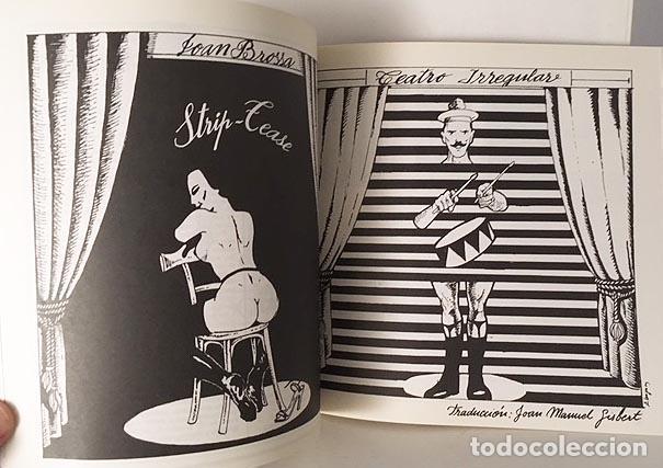 JOAN BROSSA : STRIP-TEASE & TEATRO IRREGULAR. (ILUSTRACIONES. CUBIERTA DE OPS, EL ROTO (Libros de Segunda Mano (posteriores a 1936) - Literatura - Teatro)
