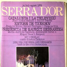 Libros de segunda mano: (TXÈKHOV, SERRAHIMA, ETC.) - SERRA D'OR NÚM. 238-239 - JULIOL 1979. Lote 109532366