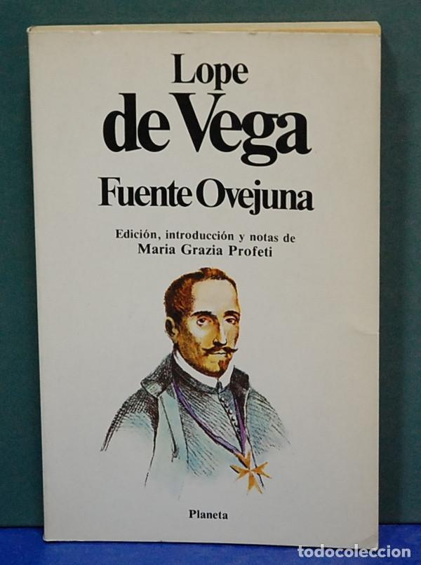 FUENTE OVEJUNA. LOPE DE VEGA (Libros de Segunda Mano (posteriores a 1936) - Literatura - Teatro)