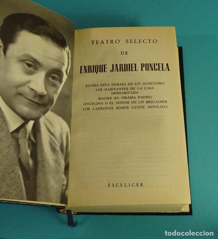 Libros de segunda mano: TEATRO SELECTO DE ENRIQUE JARDIEL PONCELA. EDITORIAL ESCELICER. 1968 - Foto 3 - 112802387