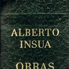 Libros de segunda mano: ALBERTO INSUA, OBRAS SELECTAS, CARROGIO 1973, 924 PAGINAS. Lote 114782115