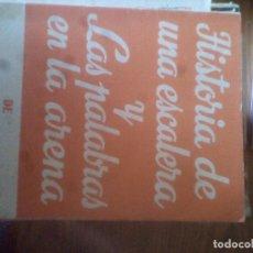 Libros de segunda mano: HISTORIA DE UNA ESCALERA Y LAS PALABRAS EN LA ARENA - ANTONIO BUERO VALLEJO (TEATRO ESCELICER ALFIL). Lote 114858939