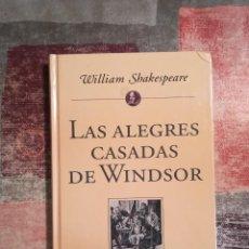 Libros de segunda mano: LAS ALEGRES CASADAS DE WINDSOR - WILLIAM SHAKESPEARE - PLANETA DE AGOSTINI. Lote 115111551