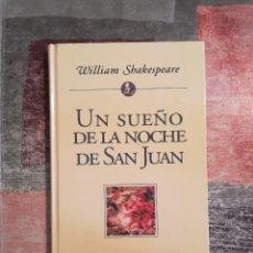 Libros de segunda mano: UN SUEÑO DE LA NOCHE DE SAN JUAN - WILLIAM SHAKESPEARE - PLANETA DE AGOSTINI. Lote 115112687
