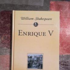 Libros de segunda mano: ENRIQUE V - WILLIAM SHAKESPEARE - PLANETA DE AGOSTINI. Lote 115114023