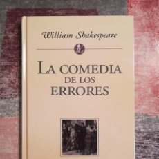 Libros de segunda mano: LA COMEDIA DE LOS ERRORES - WILLIAM SHAKESPEARE - PLANETA DE AGOSTINI. Lote 115114331
