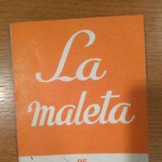 Libros de segunda mano: COLECCIÓN TEATRO SELECTO N 699 /LA MALETA DE JULIO MAURICIO COMEDIA EN 2 ACTOS/ ED ESCELICER.AÑOS 70. Lote 116130039