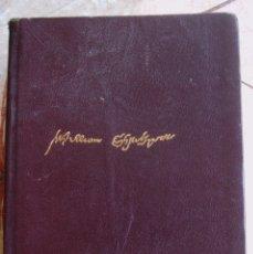Libros de segunda mano: 1139-SHAKESPEARE-OBRAS COMPLETAS-AGUILAR. Lote 55051681