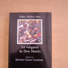 Libros de segunda mano: LA VENGANZA DE DON MENDO - PEDRO MUÑOZ SECA. Lote 116430311
