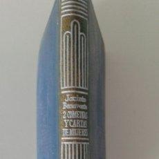 Libros de segunda mano: COLECCINO CRISOL.JACINTO BENAVENTE,2 COMEDIAS Y CARTAS DE MUJERES. Lote 116833468