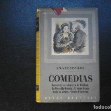 Libros de segunda mano: SHAKESPEARE DRAMAS Y COMEDIAS IBERIA 1944. Lote 117429495