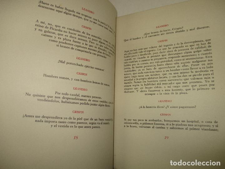 Libros de segunda mano: LOS INTERESES CREADOS. Comedia de polichinelas en dos actos, tres cuadros y un prólogo. - BENAVENTE, - Foto 8 - 117912095