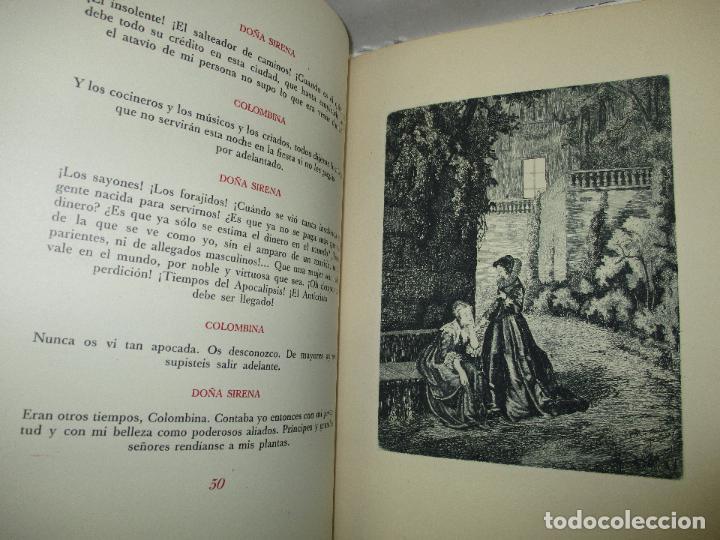 Libros de segunda mano: LOS INTERESES CREADOS. Comedia de polichinelas en dos actos, tres cuadros y un prólogo. - BENAVENTE, - Foto 10 - 117912095