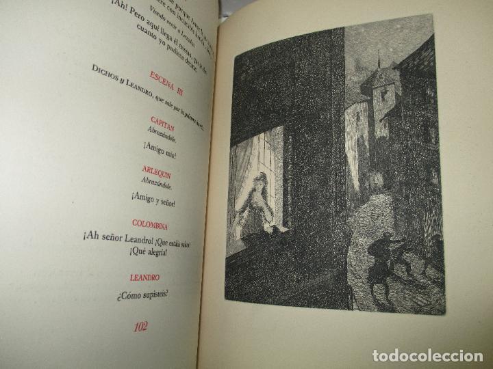 Libros de segunda mano: LOS INTERESES CREADOS. Comedia de polichinelas en dos actos, tres cuadros y un prólogo. - BENAVENTE, - Foto 11 - 117912095