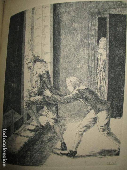 Libros de segunda mano: LOS INTERESES CREADOS. Comedia de polichinelas en dos actos, tres cuadros y un prólogo. - BENAVENTE, - Foto 12 - 117912095