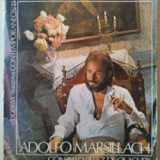 Libros de segunda mano: ADOLFO MARSILLACH. GONZALO PÉREZ DE OLAGUER. Lote 118453671