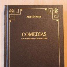Libros de segunda mano: ARISTÓFANES - COMEDIAS. LOS ACARNIENSES. LOS CABALLEROS - GREDOS. Lote 118454855