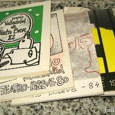 Libros de segunda mano: LOTE DE 5 LIBROS PREMIO VALLADOLID TEATRO BREVE.(RECOPILATORIO1976-1982)1980.1982.1984.1986. Lote 119073463