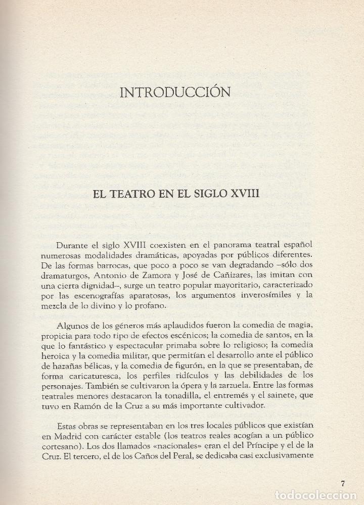 Libros de segunda mano: El sí de las niñas. La comedia nueva (1996), de Leandro Fernández de Moratín. Ediciones Rueda J. M. - Foto 3 - 251548185