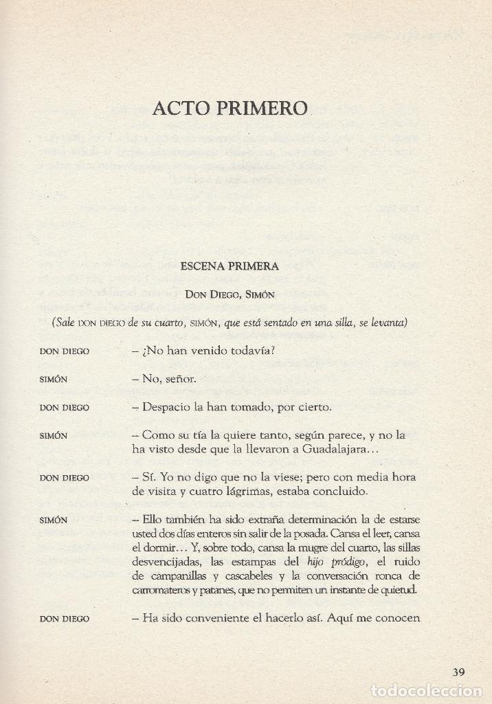Libros de segunda mano: El sí de las niñas. La comedia nueva (1996), de Leandro Fernández de Moratín. Ediciones Rueda J. M. - Foto 5 - 251548185