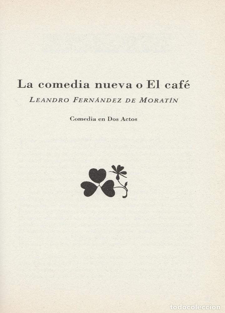 Libros de segunda mano: El sí de las niñas. La comedia nueva (1996), de Leandro Fernández de Moratín. Ediciones Rueda J. M. - Foto 6 - 251548185