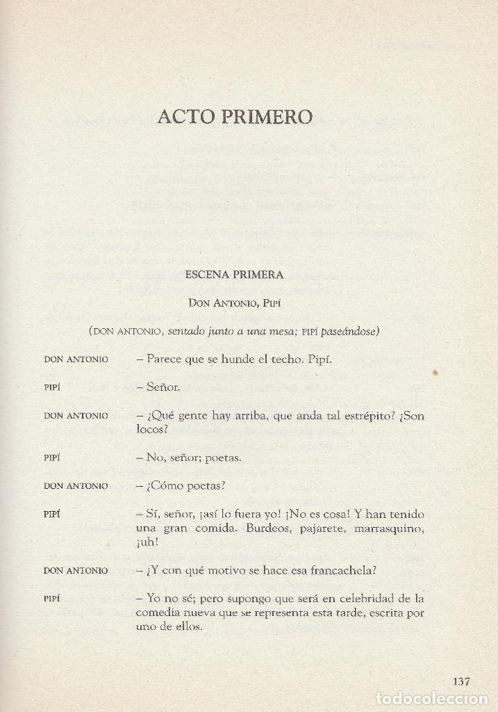 Libros de segunda mano: El sí de las niñas. La comedia nueva (1996), de Leandro Fernández de Moratín. Ediciones Rueda J. M. - Foto 7 - 251548185