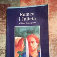 Libros de segunda mano: ROMEO I JULIETA - WILLIAM SHAKESPEARE - AULA LITERÀRIA VICENS VIVES Nº 14 - EN CATALÀ. Lote 121055195