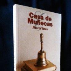 Libros de segunda mano: CASA DE MUÑECAS | IBSEN, HENRIK | 1998. Lote 122156151