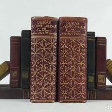 Libros de segunda mano: OBRAS COMPLETAS. ENRIQUE JARDIEL PONCELA. TOMO 2 Y 3. PRIMERA EDICIÓN. 1958.. Lote 122869651