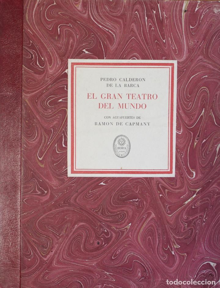 Libros de segunda mano: EL GRAN TEATRO DEL MUNDO. - CALDERÓN DE LA BARCA, Pedro. - Barcelona, 1944. - Foto 3 - 123169598