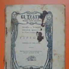 Libros de segunda mano: PIPIOLA 1929. (EL TEATRO MODERNO). Lote 123274756