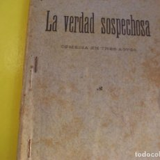 Libros de segunda mano: LAVERDAD SOSPECHOSA. Lote 124472995
