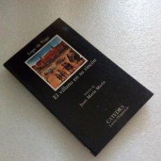 Libros de segunda mano: EL VILLANO EN SU RINCÓN LOPE DE VEGA ED.CÁTEDRA 1987 NUEVO SIN LEER . Lote 125894611