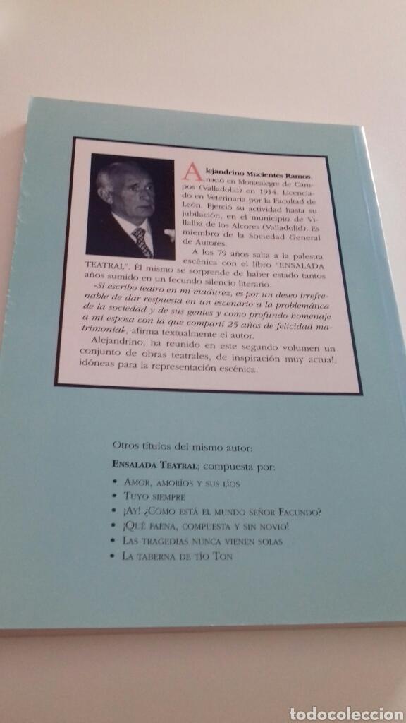 Libros de segunda mano: Velada teatral.Alejandrino Mucientes Ramos. - Foto 2 - 126018263